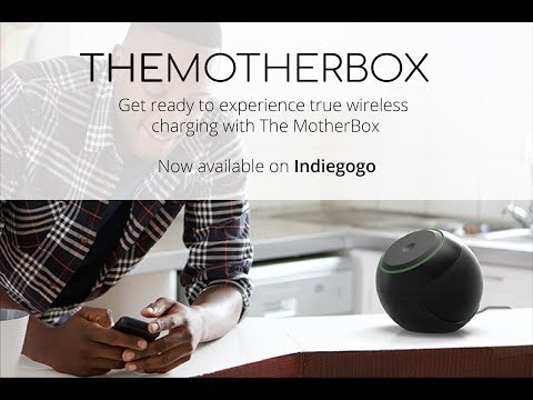 The MotherBox – TRUE Wireless Charging-GadgetAny