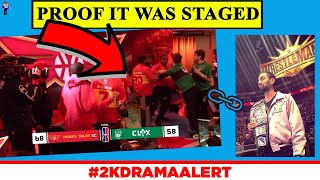 NBA STAGED A FIGHT FOR VIEWS??! 2K DEVOLOPER CAUGHT LYING #2KDramaAlert