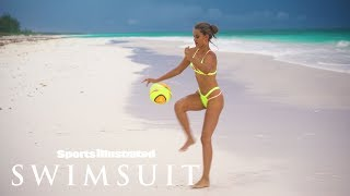 Chase Carter plays soccer in a very sexy way | Sports Illustrated Swimsuit