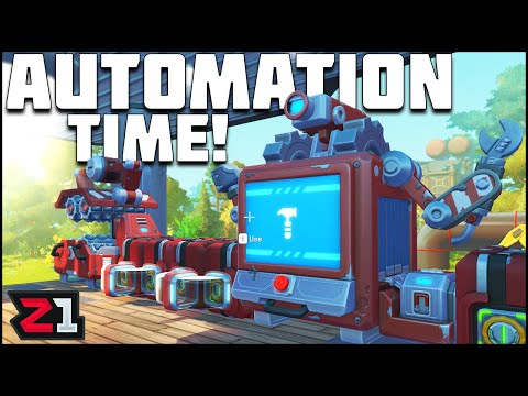 Base Improvements, Automation AND Destroyed By a TAPE BOT?! Scrap Mechanic Survival Ep.6   Z1 Gaming