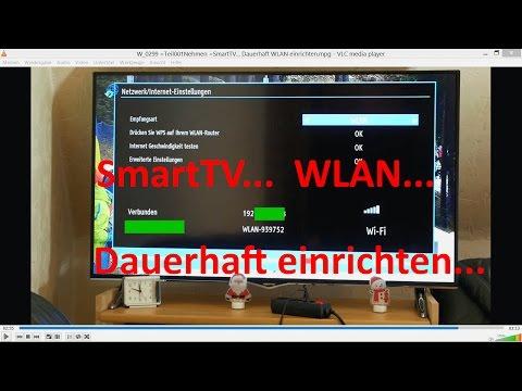 W_0299 =SmartTV =Dauerhaft WLAN einrichten