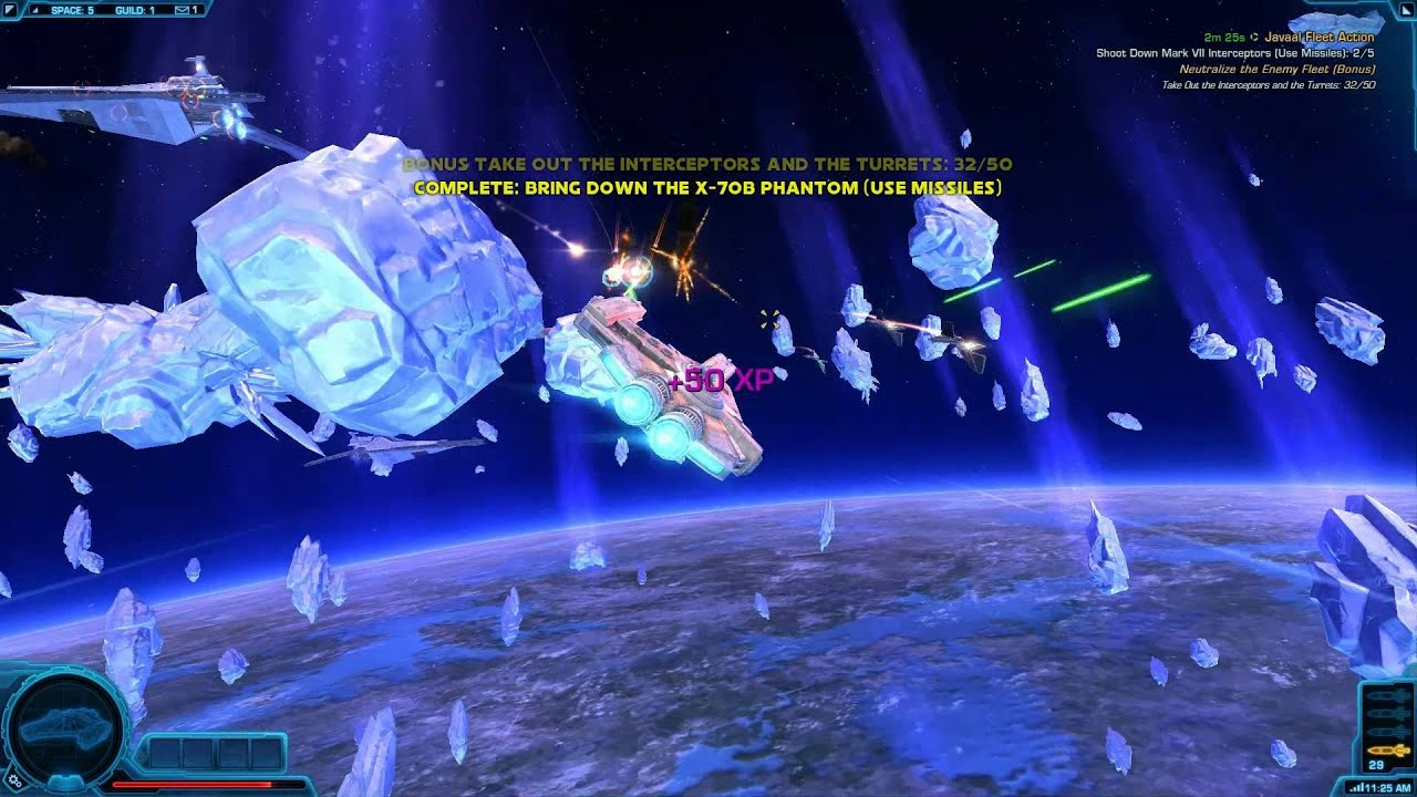 The Somewhat Exciting On-Rails Space Combat Shooting Gallery Of The Old Republic