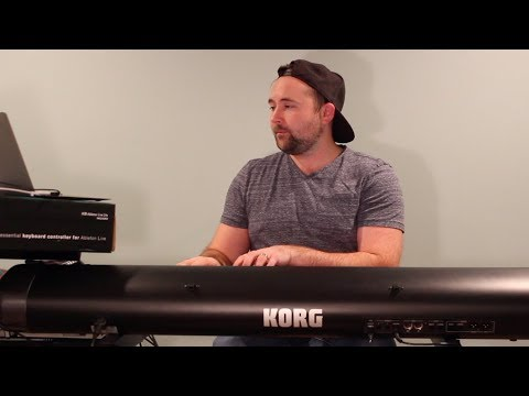 Connecting the Korg SV-1 to the Computer (USB)