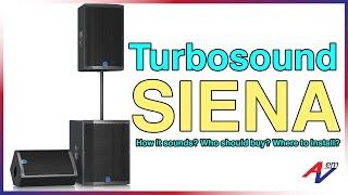 Turbosound Siena Speaker System by AV Electronics Marketing