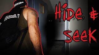 HIDE & SEEK IN HAUNTED GHOST TOWN - 3AM CHALLENGE