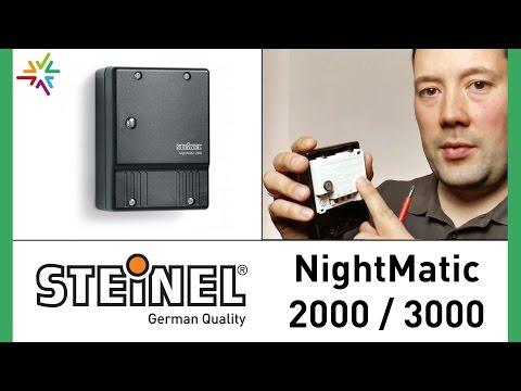 """Dämmerungsschalter """"STEINEL NightMatic 2000 und 3000"""" [watt24-Video Nr. 13]"""