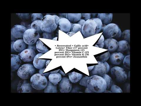 Blueberries - The HEALTHIEST Food in the World?  Facts by Xavier Smith