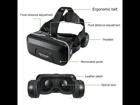 HAMSWAN G04EA 3D VR Glasses Review