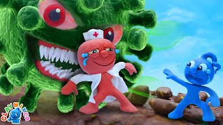 Tiny Can't Escape From The Infection - Stop Motion Animation Short Film