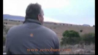 Смотреть онлайн Удачная охота на носорога с ружьем