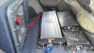 SPL & SQ KICKER SoloX 18 32hz /2 AMP KICKER ZX2500.1 Crazy Bass