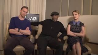 Том Хиддлстон, Tom Hiddleston, Sam Jackson, & Brie Larson on the LAD Bible.