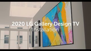 YouTube Video LJ0rVkn0Jmc for Product LG GX OLED 4K TV with Gallery Design by Company LG Electronics in Industry Televisions