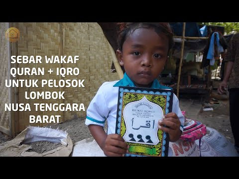DISTRIBUSI WAKAF QURAN FOR LOMBOK