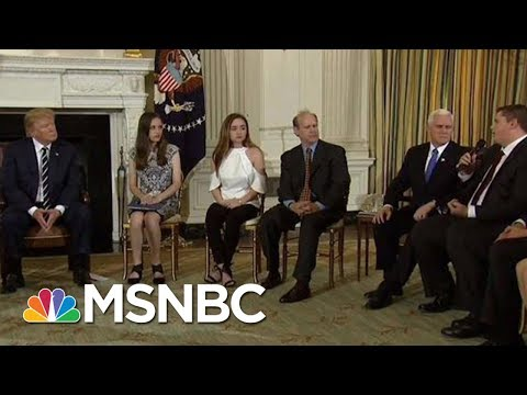 Parkland & Newtown Parents Respond To Trump: Arming Teachers 'No-Starter' | Andrea Mitchell | MSNBC