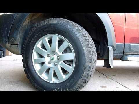 Land Rover LR3 - Best Off Road Tires