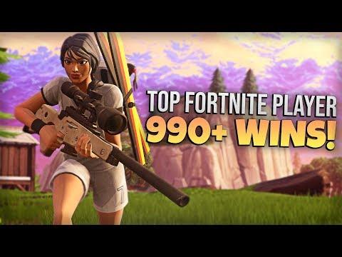 top fortnite player 990 wins pro fortnite player