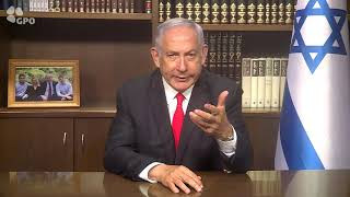 """Netanjahu: """"Nikdy více"""" není nějaký slogan – je to naše mise"""