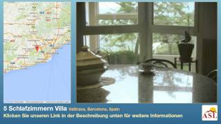 preview picture of video '5 Schlafzimmern Villa zu verkaufen in Vallirana, Barcelona, Spain'