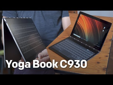 199a448b42a Lenovo Yoga Book C930 hands-on from IFA 2018