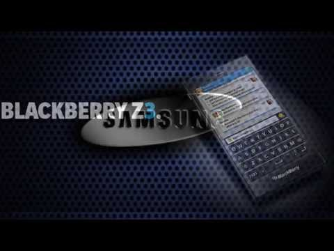 Blackberry Z3 at MWC 2014