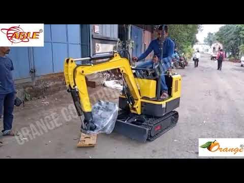 Orange Or-Ex0.6 Mini Excavator