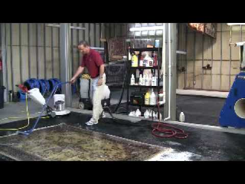 Part 2 - How To Clean An Oriental Rug