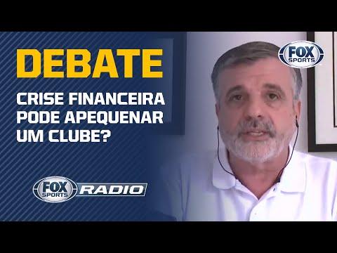 Crise financeira pode APEQUENAR um clube? Veja debate no 'FOX Sports Rádio'