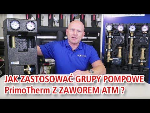Jak zastosować grupy pompowe PrimoTherm 180-2 z termostatycznym zaworem ATM