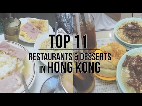 Video TOP 11 THINGS TO EAT IN HONG KONG | Budget friendly