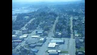 Landing at North Bend, Oregon in Cessna 172RG