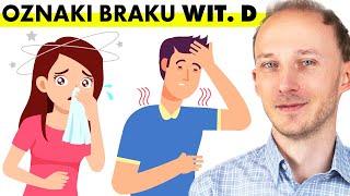 12 sygnałów, że Twój organizm potrzebuje więcej witaminy D – objawy niedoboru | Dr Bartek Kulczyński
