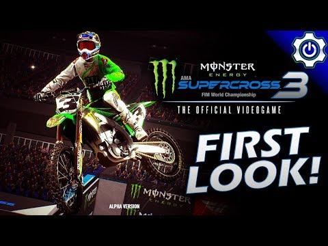 Gameplay de Monster Energy Supercross 3