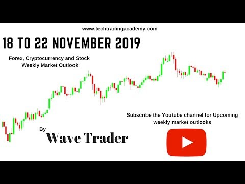 Cryptocurrency, Forex and Stock Webinar and Weekly Market Outlook from 18 to 22 November 2019