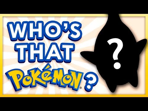 Who's That Pokemon Challenge! ft. MandJTV and JubileeBlais