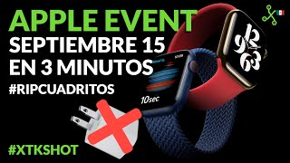 XTKShot: Apple Watch Series 6 sin CARGADOR, iPad Air y Apple One en TRES MINUTOS