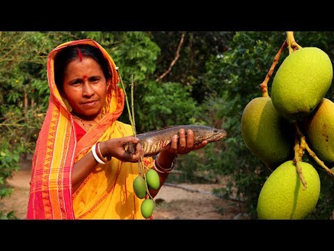 Traditional Amm Shol Recipe | Summer Season Fish Recipe | Indian Village Food