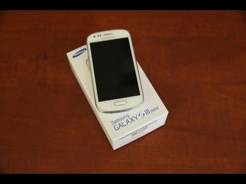 Samsung Galaxy S III Mini Unboxing