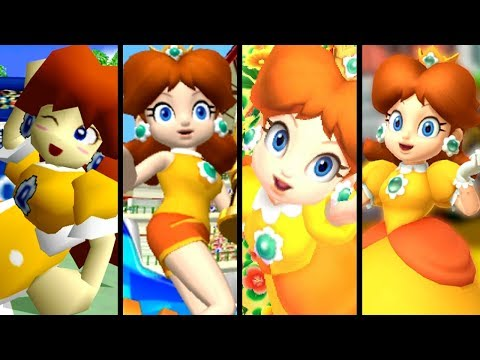 Super Mario Evolution of DAISY'S VOICE 2000-2017 (N64 to Switch)