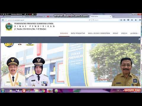 Video CARA Daftar PPDB Online (masuk SMA Secara Online)