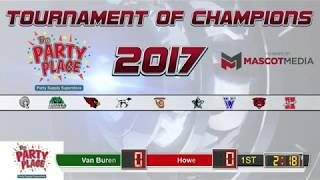 TOC Game 8: Van Buren vs Howe