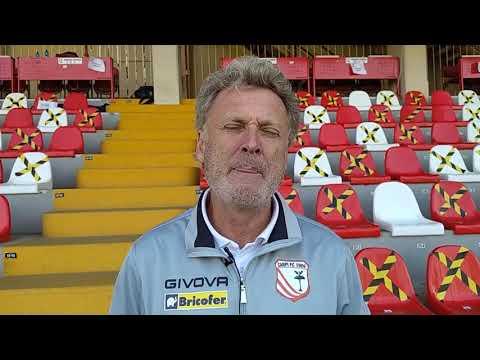 Carpi-Arezzo 4-1, intervista a mister Pochesci
