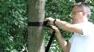 Hammock Tree Straps (Eco-Friendly) by Hammock Universe - HOW TO GUIDE