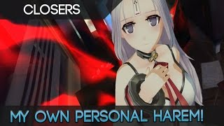 Closers Online - Creating My Own Personal Anime MMORPG Harem! Mwahhaha!