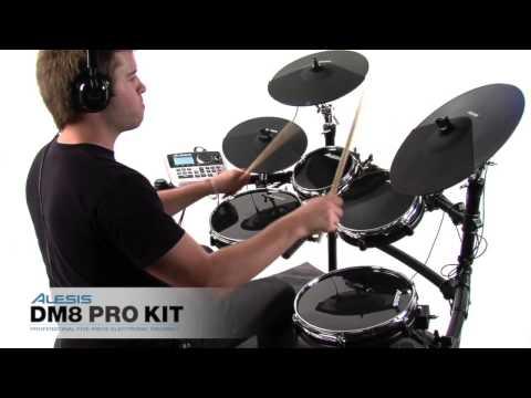 ▶ Batería electrónica Alesis DM8 Pro Kit