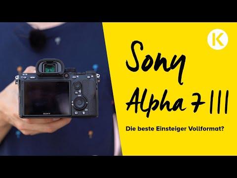 Sony Alpha 7 III – Die beste Einsteiger Vollformatkamera? | Foto Koch Test