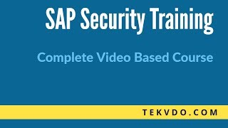SAP Security Training -  Central User Administration (CUA) Deep Dive - Complete SAP Security Course