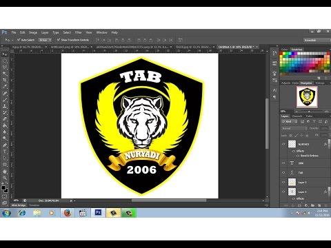 cara membuat desain logo club motor # 2