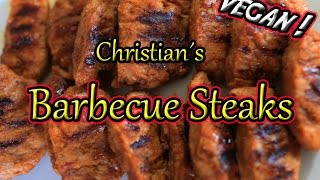 Rezept: Die besten veganen Barbecue Steaks!