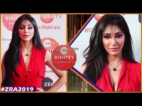 Reyhna Pandit Of Serial Manmohini At Zee Rishtey Awards 2019 Red Carpet